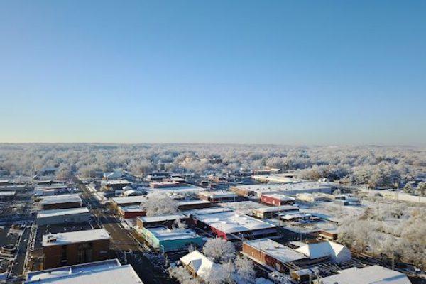 Sylacauga snow, Dec. 9, 2017